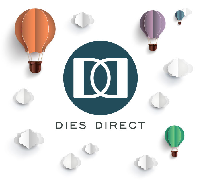 Dies Direct Logo and Hot Air Balloons